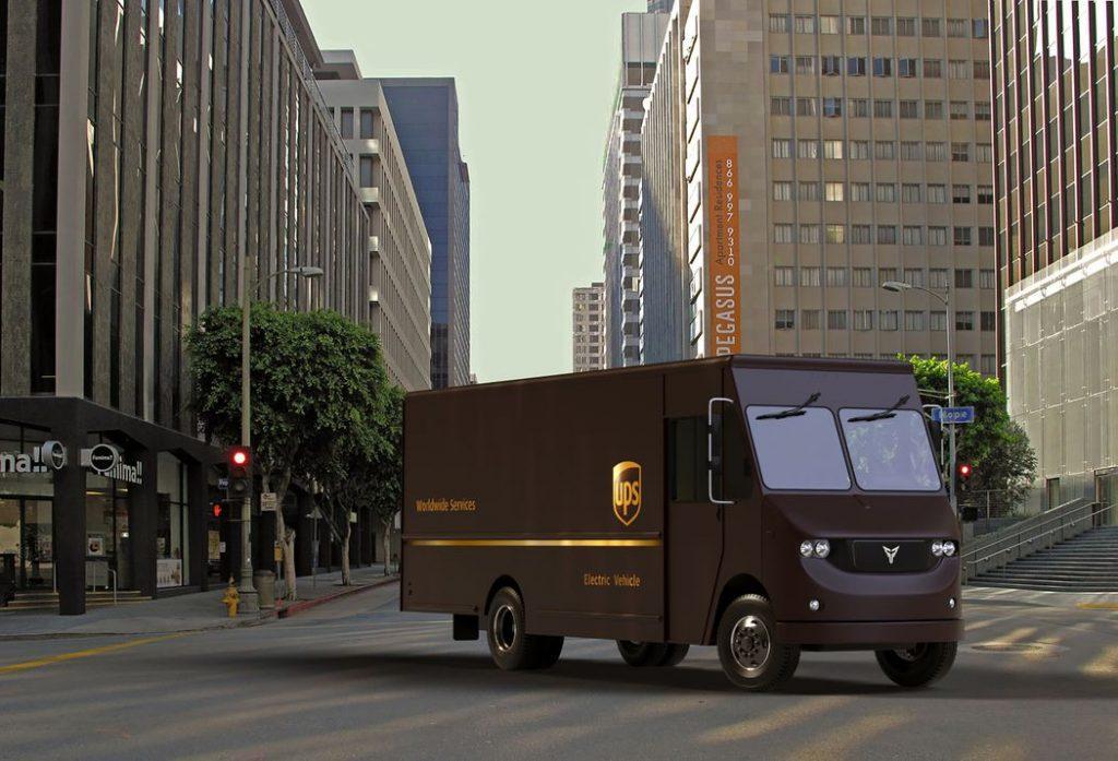 UPS levará modelo elétrico da Thor Trucks para as ruas