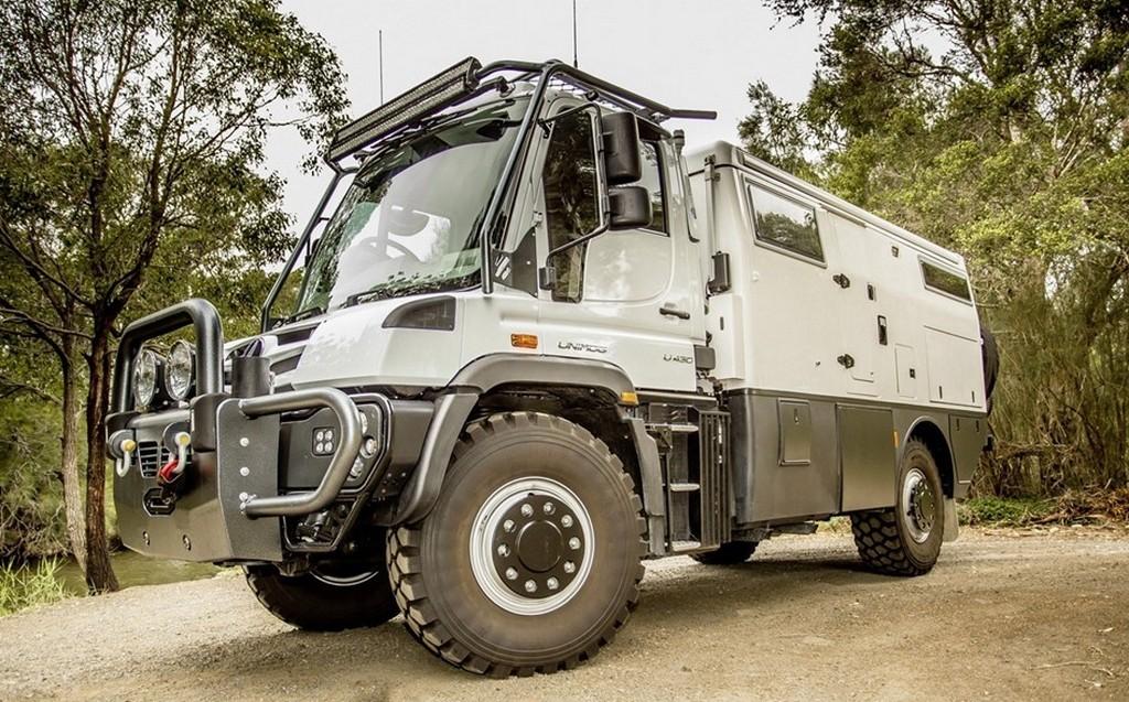 Explorer XPR440 by Earth Cruiser: Um Unimog para acampadas extremas