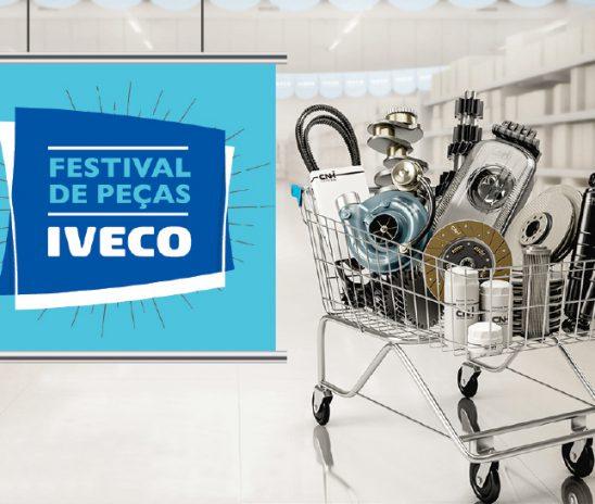 IVECO oferece descontos em peças genuínas até o final de setembro