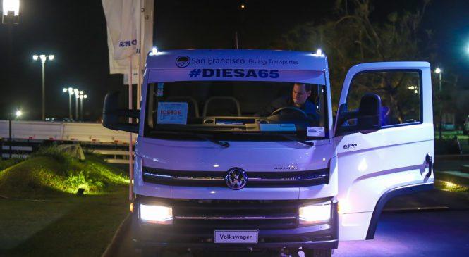 Novos caminhões Volkswagen Delivery chegam ao Paraguai