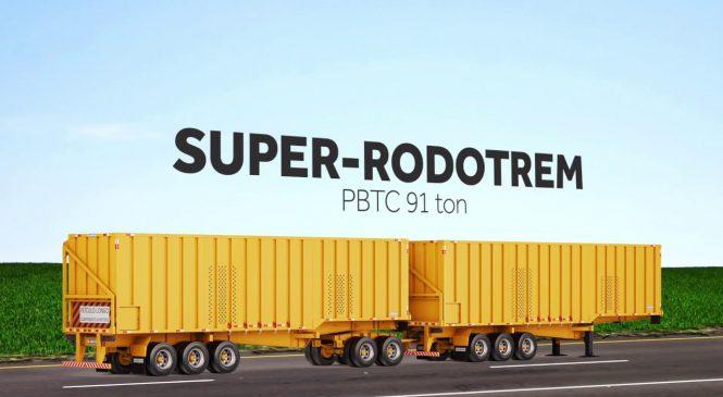 Circulação do Super Rodotrem está suspensa em todo o Brasil.