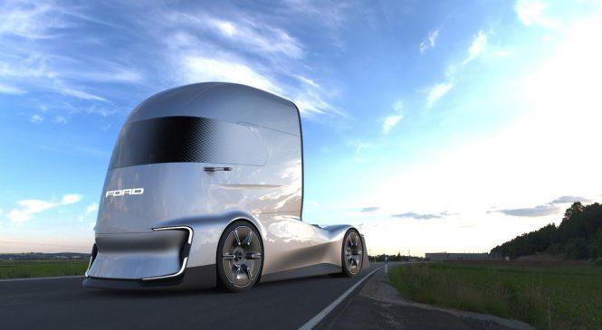 Ford F-Vision Future Truck Concept: A proposta da marca para um caminhão elétrico e autônomo
