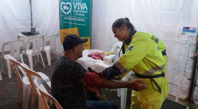 Arteris Intervias realiza campanha gratuita para os caminhoneiros na Via Anhanguera