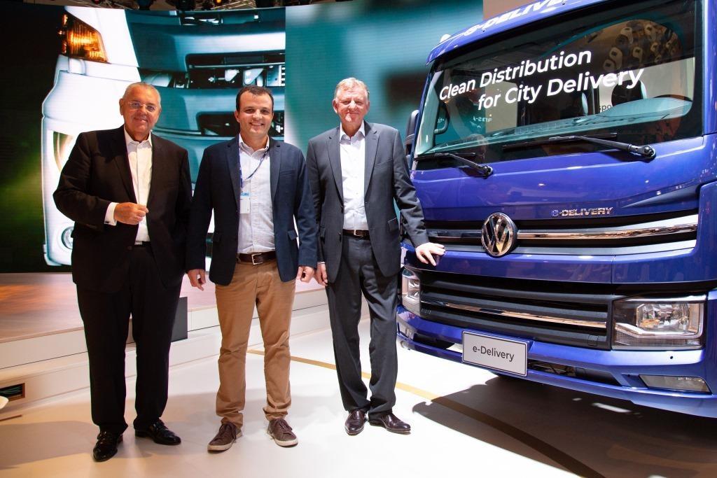 Cervejaria Ambev e VW Caminhões e Ônibus firmam compromisso global para a criação de modelo de negócio elétrico.