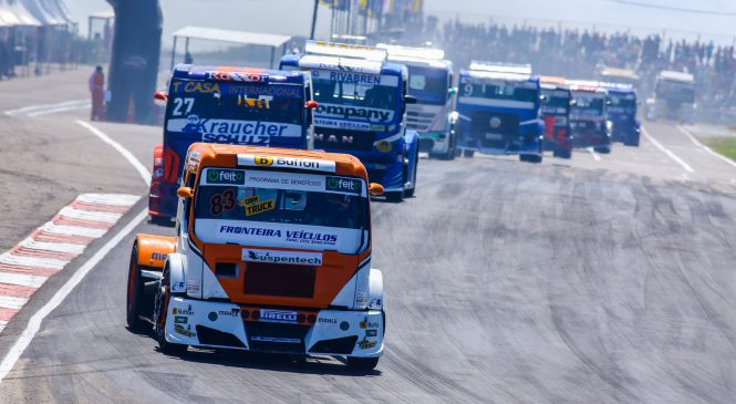 Pela primeira vez, Curvelo recebe Copa Truck em clima de decisão