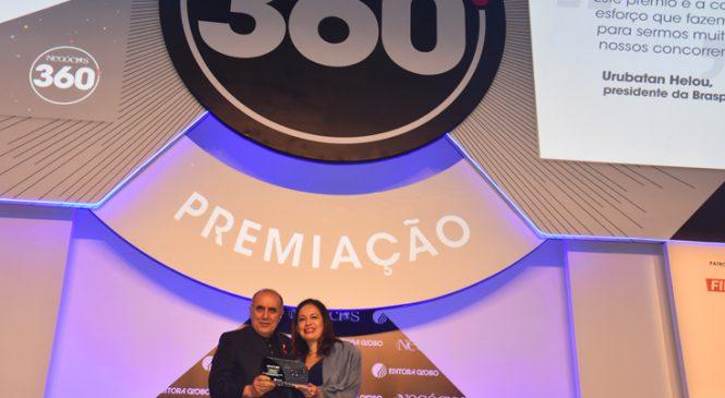 Braspress é tricampeã do prêmio Época Negócios 360º