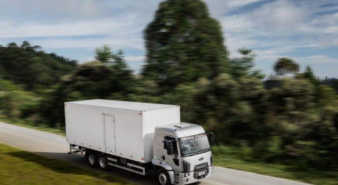 Os testes nos caminhões antes de irem para o mercado