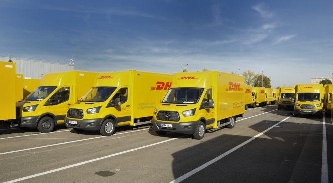 Ford Europa inicia produção da van elétrica para entregas urbanas.