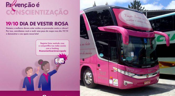 Outubro Rosa tem ação de prevenção Marcopolo.