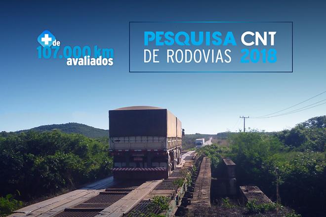 Pesquisa CNT Rodovias mostra 57% dos trechos com problemas.