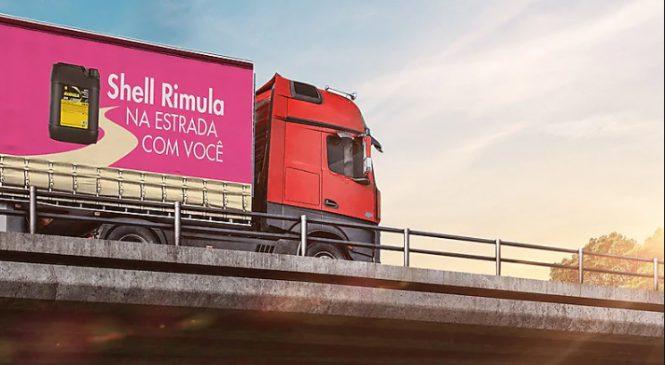 Carreta Shell Rimula leva o Outubro Rosa para as estradas