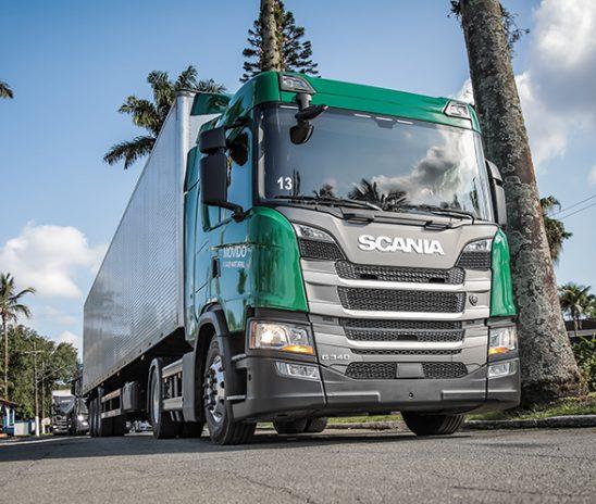 Citrosuco testará caminhão Scania movido a gás