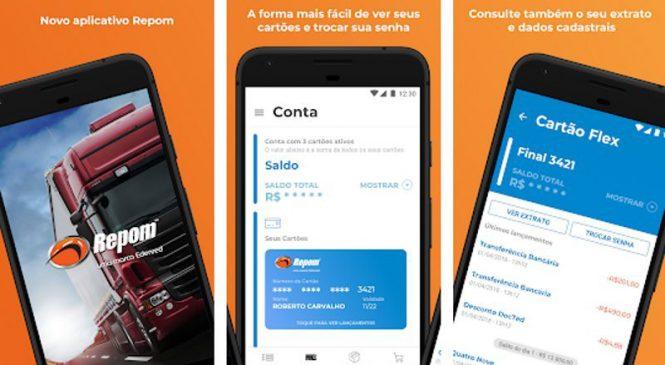 Repom amplia oferta de serviços em seu aplicativo e já alcança mais de 240 mil downloads
