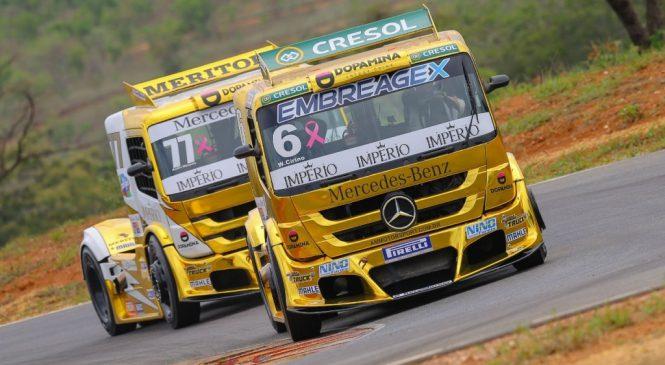 Caminhões da Copa Truck podem bater recorde de velocidade em Curitiba com mudanças nos restritores