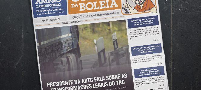 81ª Edição Nacional – Jornal Chico da Boleia