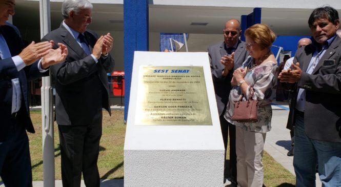 Sest Senat inaugura Unidade em Guarujá (SP)