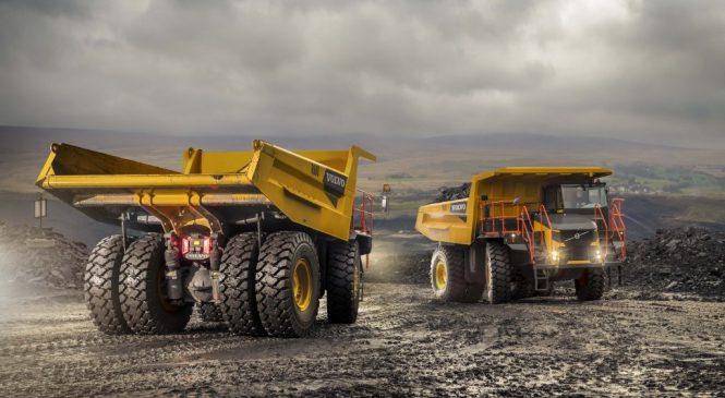 R100E: o peso pesado da Volvo