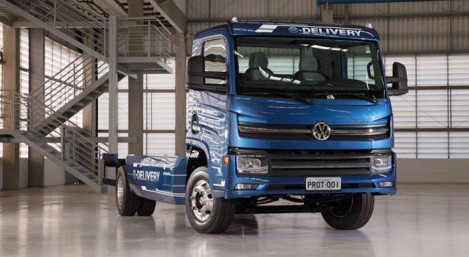 VW tenta atrair fornecedores para caminhão elétrico