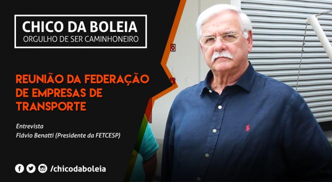 [VÍDEO] Reunião da federação de empresas de transporte | Flávio Benatti Presidente da FETCESP | 2018
