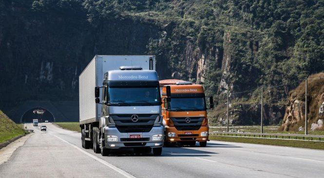 Actros e Axor representam 23% das vendas de caminhões extrapesados do mercado.