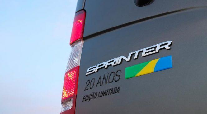 Campanha de comunicação dos 20 anos da Sprinter é premiada.