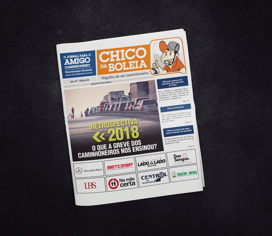 84ª Edição Nacional – Jornal Chico da Boleia