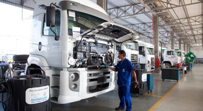 Banco Volkswagen financia peças e serviços na rede de concessionários.
