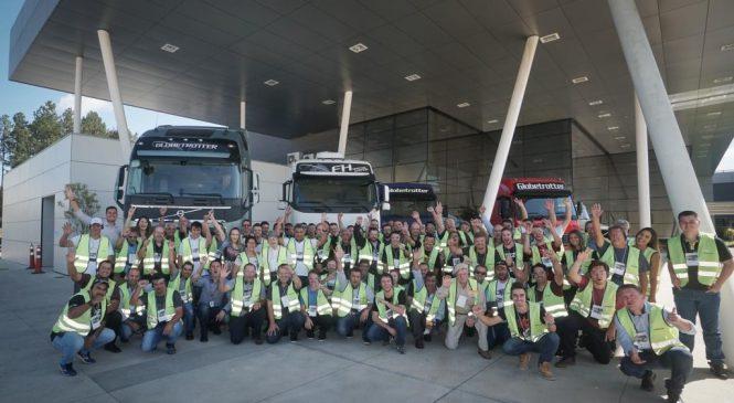 Programa Visita de Amigo da Volvo bate recorde de participações.