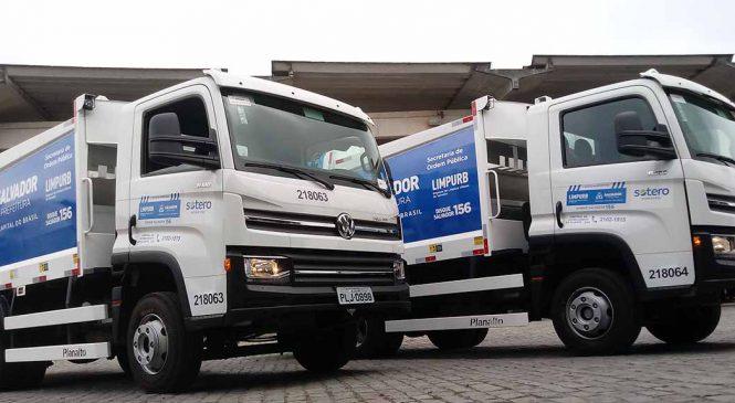 VW Delivery opera como compactador em Salvador