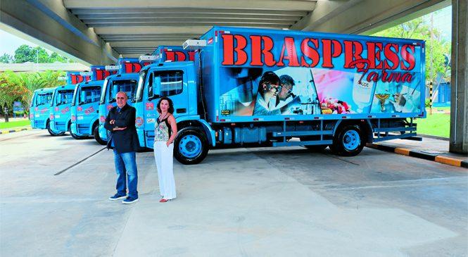 Braspress adquire 30 caminhões Mercedes-Benz Atego