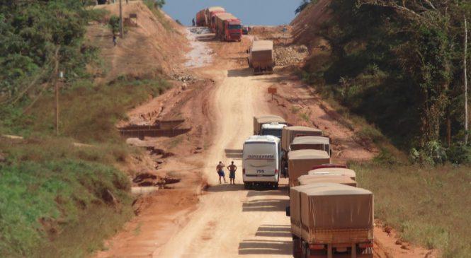Governo vai anunciar ações na BR-163 para garantir escoamento da safra