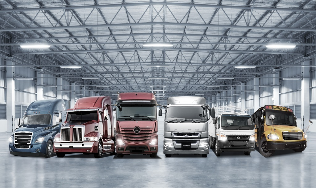 Daimler Trucks vende mais de 500.000 caminhões em 2018
