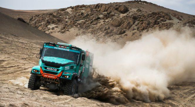 Equipe Iveco vence a sétima etapa do Rally Dakar