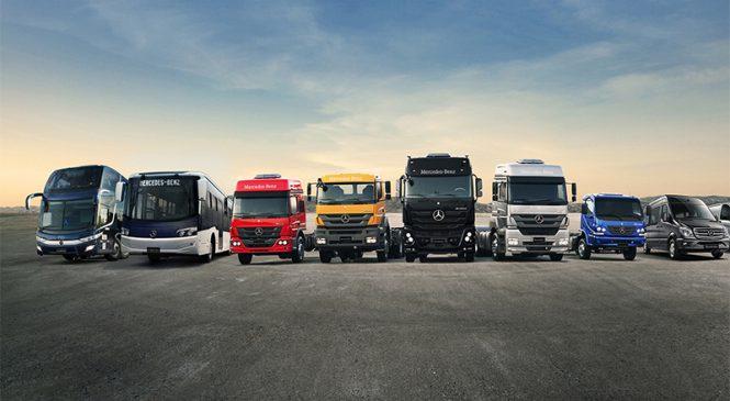 Mercedes-Benz ganha prêmio no Pará pela liderança de vendas em todos os segmentos de veículos no Brasil