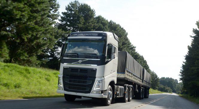 Volvo FH 540 6x4T é o caminhão mais vendido no país