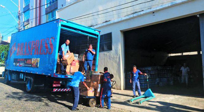 Braspress leva donativos para vítimas de Brumadinho