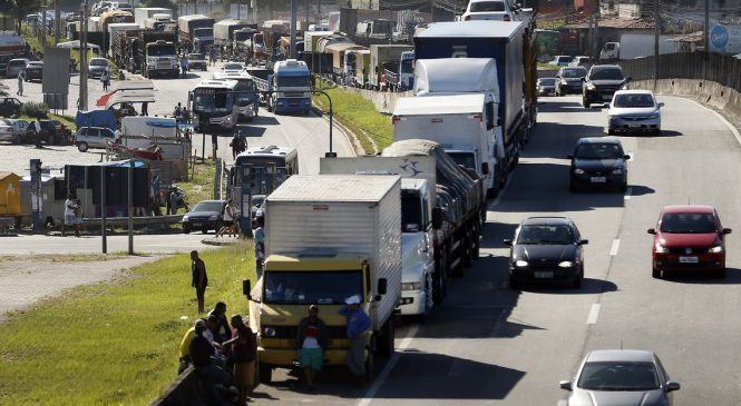 Ministro do STF confirma validade da tabela de frete rodoviário