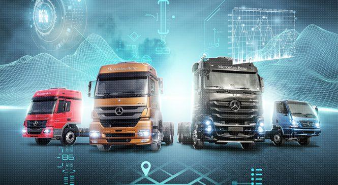 Liderança da Mercedes-Benz em veículos comerciais leva ao crescimento nas vendas de serviços