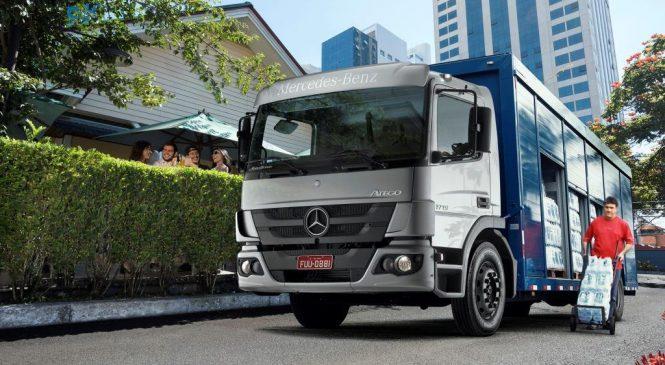 Atego 1719 é o caminhão semipesado mais vendido em janeiro.
