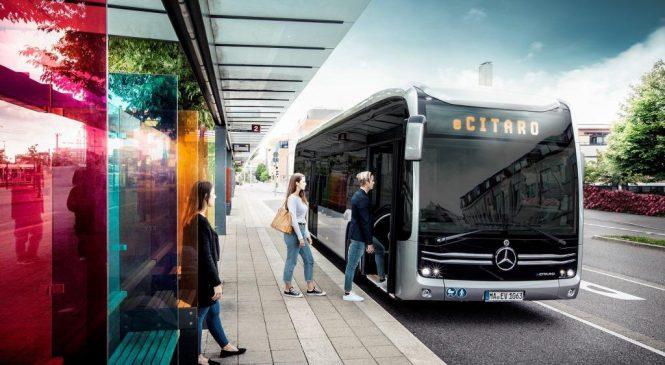 Ônibus elétricos eCitaro e Setra da Daimler Buses recebem prêmios.