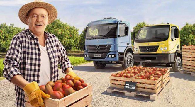 Mercedes-Benz realiza test-drive de caminhões Accelo e Atego no Ceasa em Natal