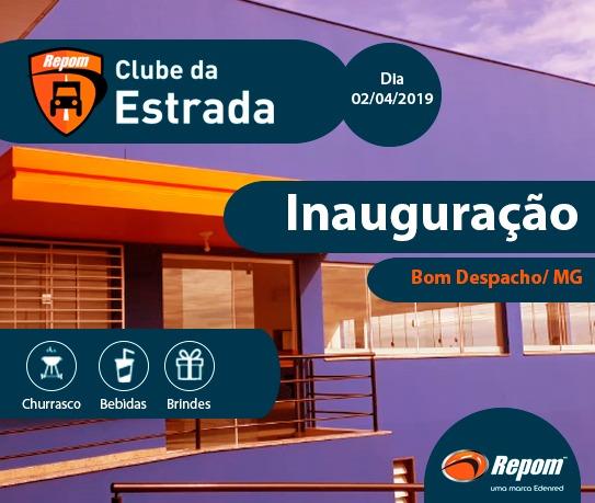 Repom inaugura Clube da Estrada em Bom Despacho