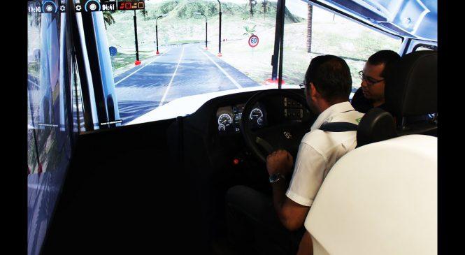 [VÍDEO] Sest Senat de Porto Ferreira inaugura Simulador híbrido de caminhão e ônibus