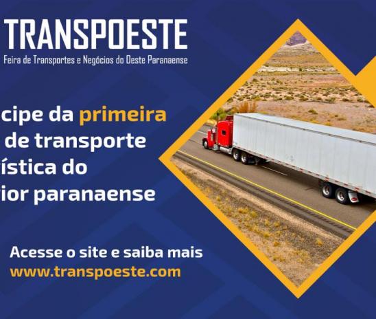 1ª TRANSPOESTE Feira de Transportes e Negócios do Paraná