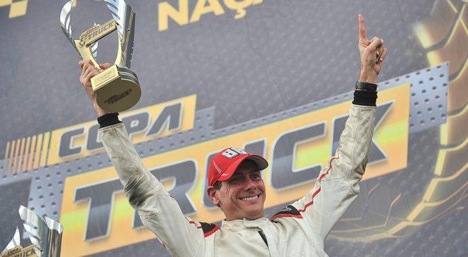 Beto Monteiro conquista primeiro título do ano na Copa Truck