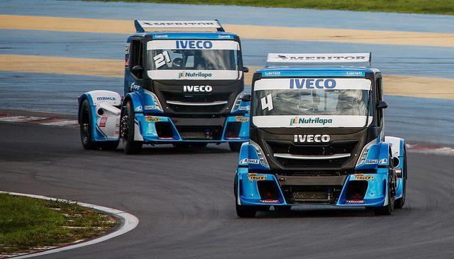 Caminhões IVECO esquentam os motores para a segunda etapa da Copa Truck 2019