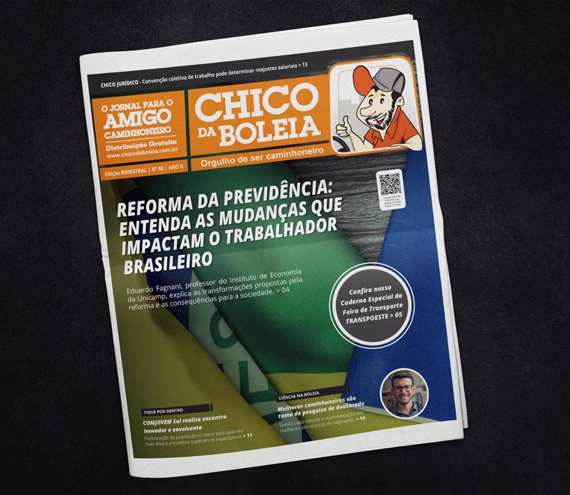 86ª Edição Nacional – Jornal Chico da Boleia