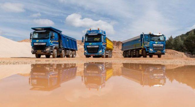 DAF aposta no crescimento e reforça linha para construção