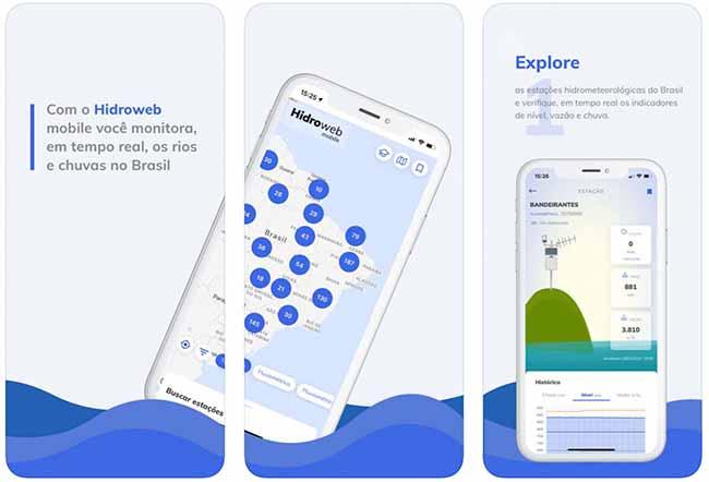 Aplicativo mostra dados de chuva e auxilia motoristas