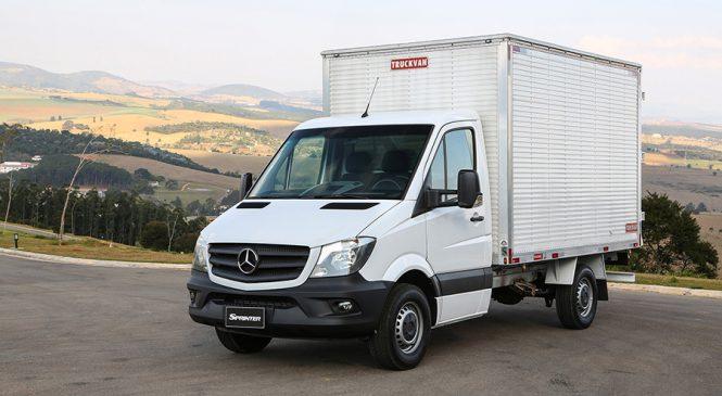 Mercedes-Benz avança nas vendas de chassis Sprinter no primeiro trimestre